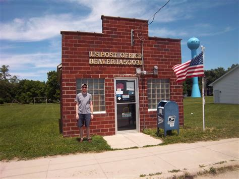 Beaver Post Office by The Small Town Of Beaver Ia Nednerb