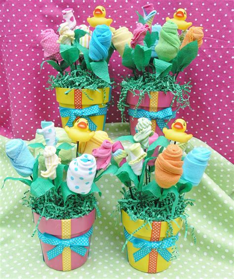Unique Baby Shower Centerpieces 4 Baby Bouquet By Flowers For Baby Shower Centerpieces