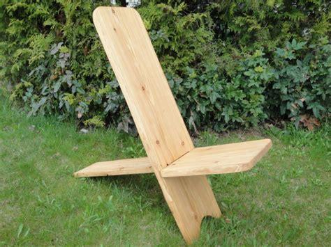 stuhl aus 2 brettern steckstuhl wikingerstuhl trapperstuhl mittelalterstuhl