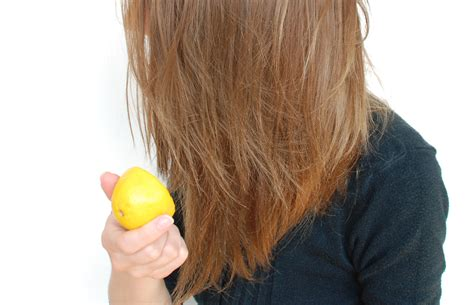 Where To Highlight How To Highlight Your Hair With Lemons 7 Steps With