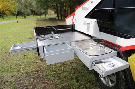 simply rugged trailers rugged luxury take your bed on the road in this modern cer urbanist