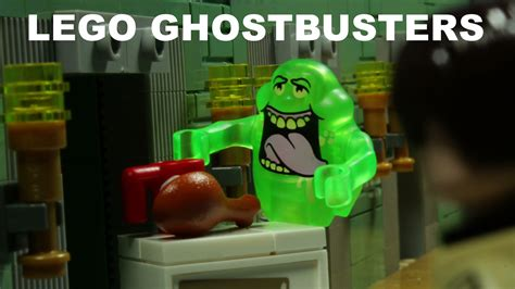 lego stop motion a lego stop motion remake of ghostbusters
