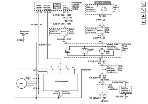 4 wire chevy alternator wiring diagram truck free