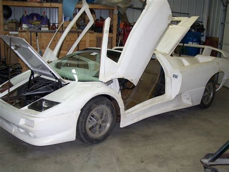 Lamborghini Kits For Sale 1987 Lamborghini Diablo Roadster Replica Kit Car For Sale