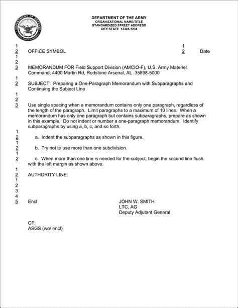 Memo Format Signature 13 Best Images Of Army Memo Of Understanding Template