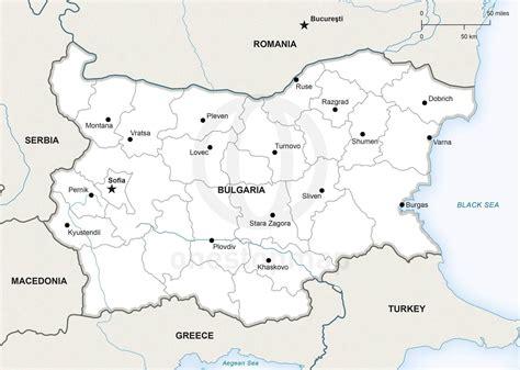 map of bulgaria bulgaria map porovo