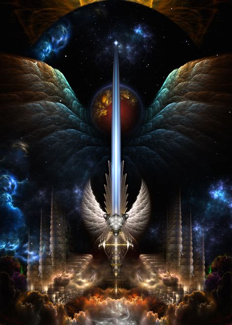 michael s sword you with archangel michael books the wing sword of arkledious imw by xzendor7 on