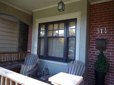 black double hung window  toronto black windows