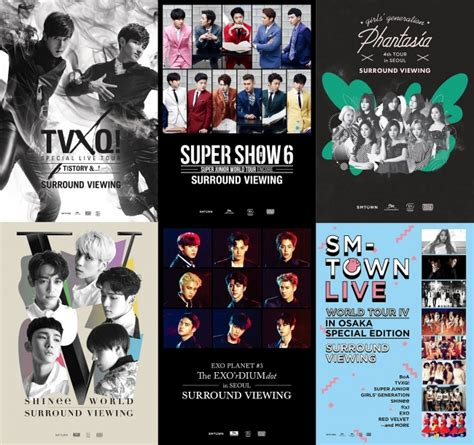 Exo Smtown Week Limited Edition Color Ver Photo Set Official smtown surround viewing week in tokyo 8月11日 金 祝 8月20日 日