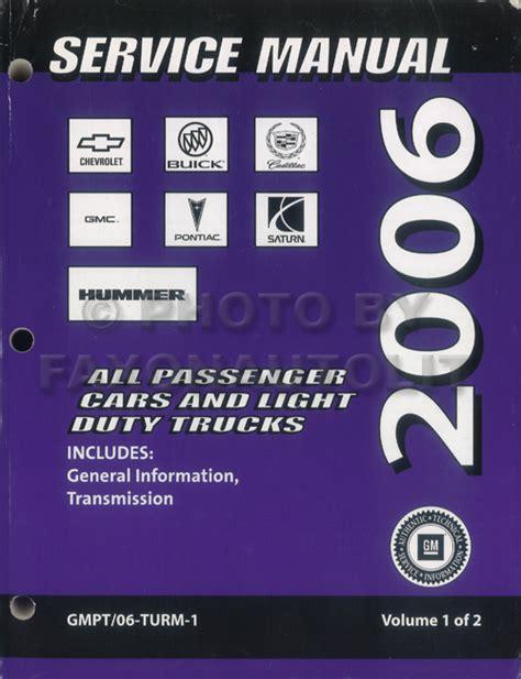 car repair manuals download 2006 chevrolet hhr auto manual 2006 chevrolet hhr repair shop manual original 2 volume set