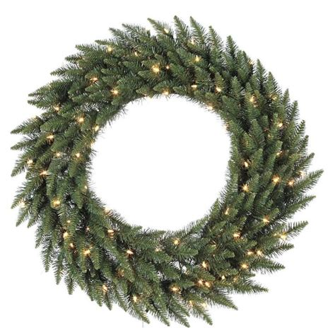 48 pre lit wreath princess decor