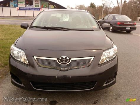 black sand for sale 2009 toyota corolla le in black sand pearl photo 2