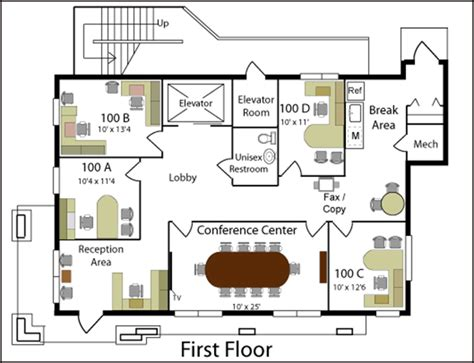 architect office plan layout office design software office layouts cad pro software