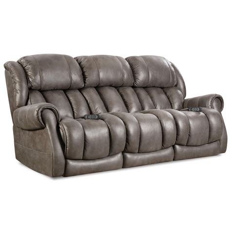 Homestretch Atlantis 146 37 14 Casual Power Reclining Sofa Homestretch Reclining Sofa