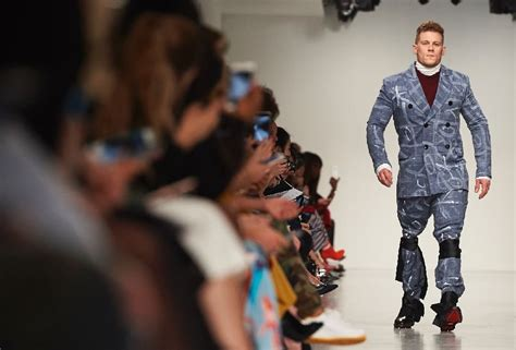 fashion brands message for fall shoppers buy less all trends from london fashion week fall winter 2017 2018