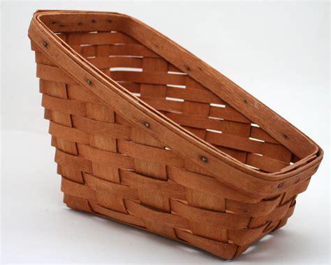 longaberger baskets vintage longaberger basket sleigh basket hand by