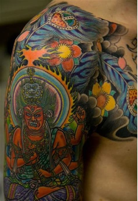 oriental god tattoo japanese god tattoo