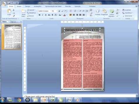 layout de um banner criando um p 244 ster no powerpoint avi youtube