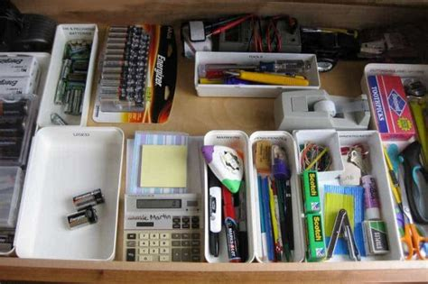 How To Organise Your Drawers by Org Junk Drawer Sm Destination Organization
