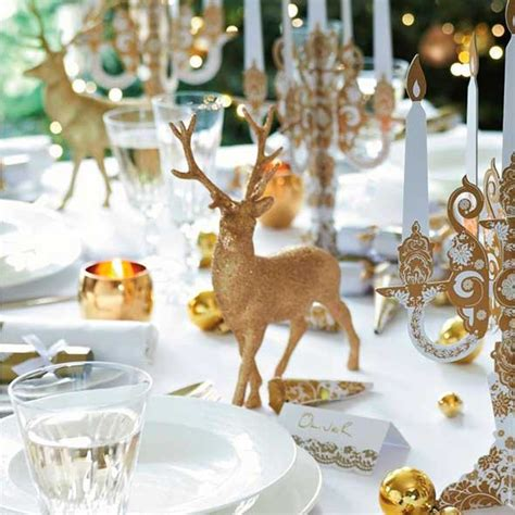 gold and table decorations best gold table decorations for