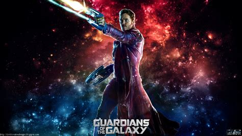 wallpaper galaxy marvel star lord full hd wallpaper and background image