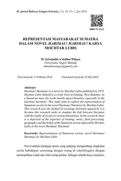 Contoh Sinopsis Novel Bahasa Sunda - Kumpulan Contoh