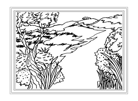 Landscape Coloring Page 16 Colorpagesforadults Coloring Pages Free Coloring Pages Of Landscape Landscape