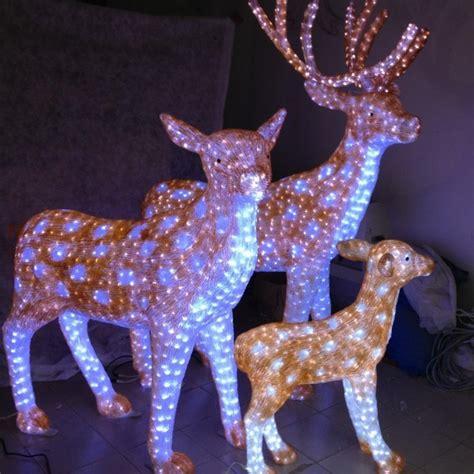 outdoor christmas animal lights custom outdoor decoration light animal shaped 3d led