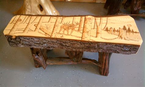 GV Wood Products   Log and Rustic Furniture