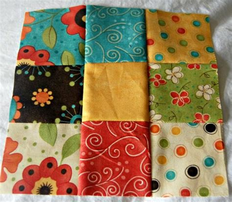 Nine Patch Quilt Blocks by How To Make A Nine Patch Quilt Block