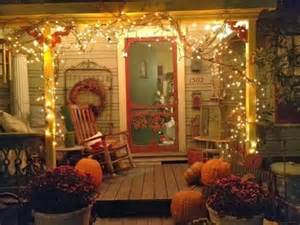 Welcome Outdoor Decor 26 Cozy Fall D 233 Cor Ideas With Lights Shelterness