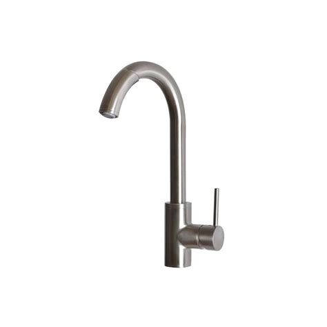 foret kitchen faucet foret single handle pull out sprayer kitchen faucet in stainless steel ss whlx78591 the