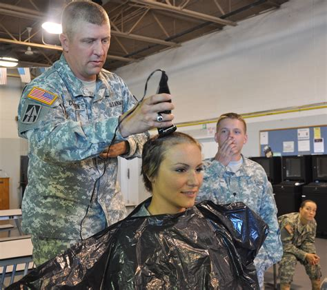 defense gov news article face of defense soldier shaves