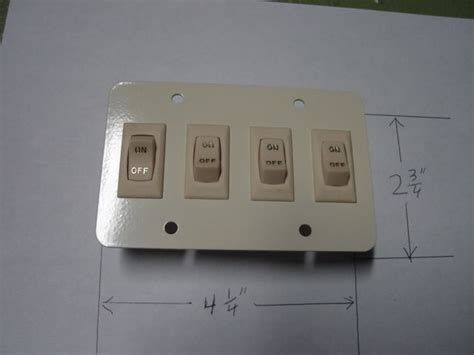 Rv Light Switch by Rv 12 Volt Wall Light Switch Cargo Trailer New 4 Gi