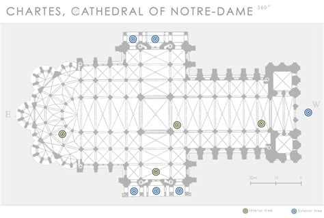 chartres cathedral floor plan chartres cathedral of notre dame 360 department of