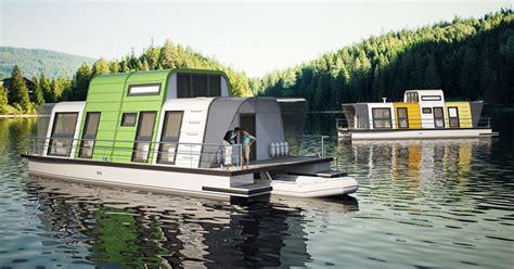 prefab houseboat design   assembled   days curbed