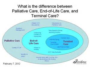 what is the difference between palliative care eol care