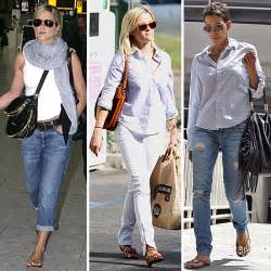 Celebrity Style by Celebrities Wearing Jeans Casual Celebrity Style Pictures