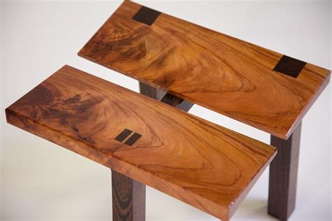 custom source woodworking these woodworkers made 38 custom wood stools now vote for