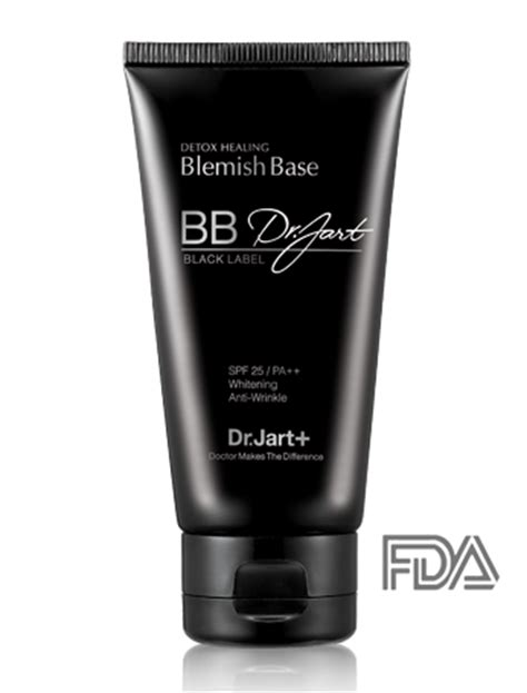 Dr Jart Black Label Detox Bb Balm Spf 25 by Dr Jart Black Label Detox Healing Bb Skin