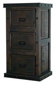 rustic 3 drawer file cabinet three drawer file cabinet