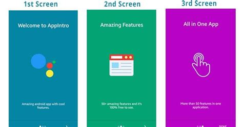 android tutorial android slidingpanels simple way to android appintro slider exle viral android