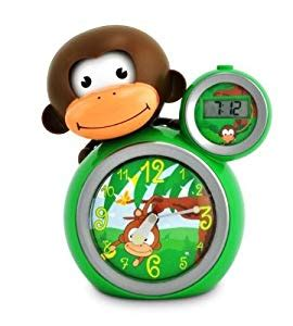 babyzoo alarm clock for children teach your child when to stay in bed