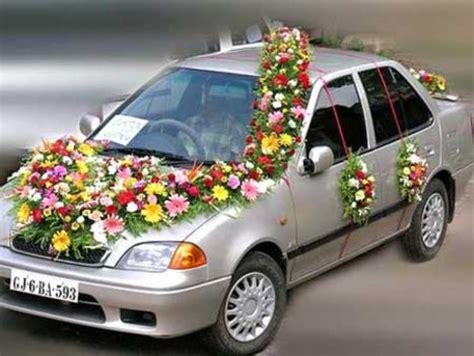 wedding car decoration ideas sang maestro