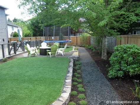soggy backyard solutions project spotlight portland landscapers turn wet backyard