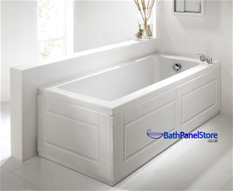 Bath Shower Seats high gloss white extra height bath panels