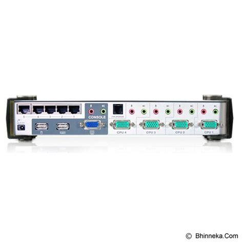 Diskon Kvm Switch 2 Port Usb jual aten cs1774 murah bhinneka