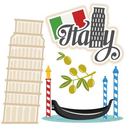 italia clipart italy set venice gondola svg scrapbook cut file