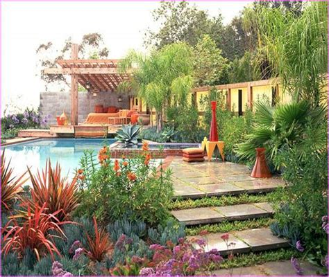 Small Mediterranean Garden Ideas Patio Garden Ideas Pictures Home Design Ideas