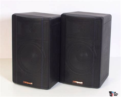 klipsch kb1 1 synergy series bookshelf speakers photo